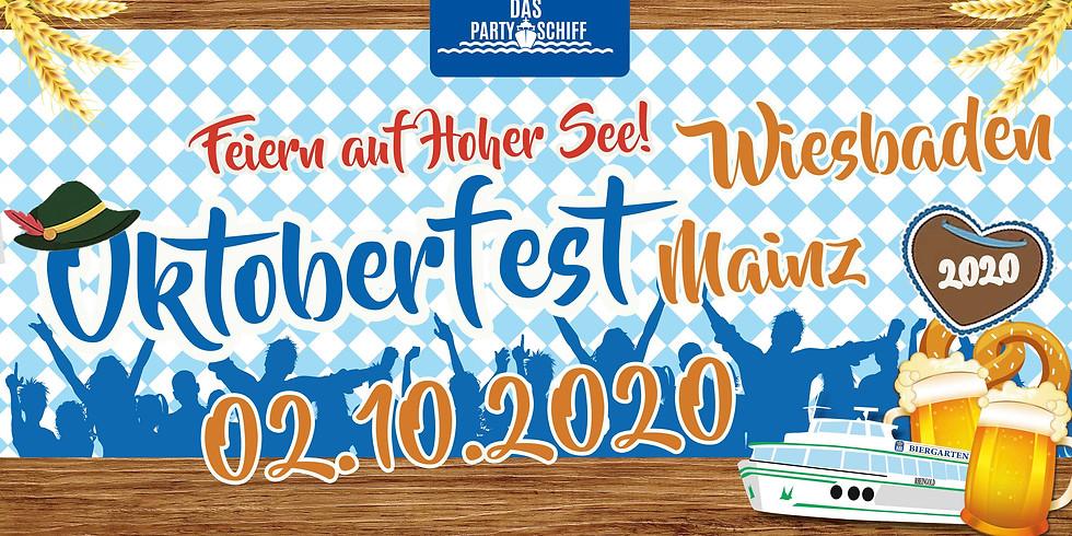 Oktoberfest Partyschiff Wiesbaden 02.10.2020 - NACHT DER TRACHT TOUR