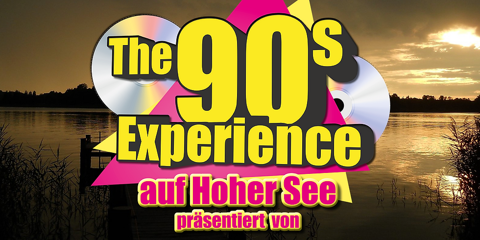 """The 90s Experience - Partyschiff CHIEMSEE 2021 - DAY TOUR """"HALLOWEEN-EDITION"""