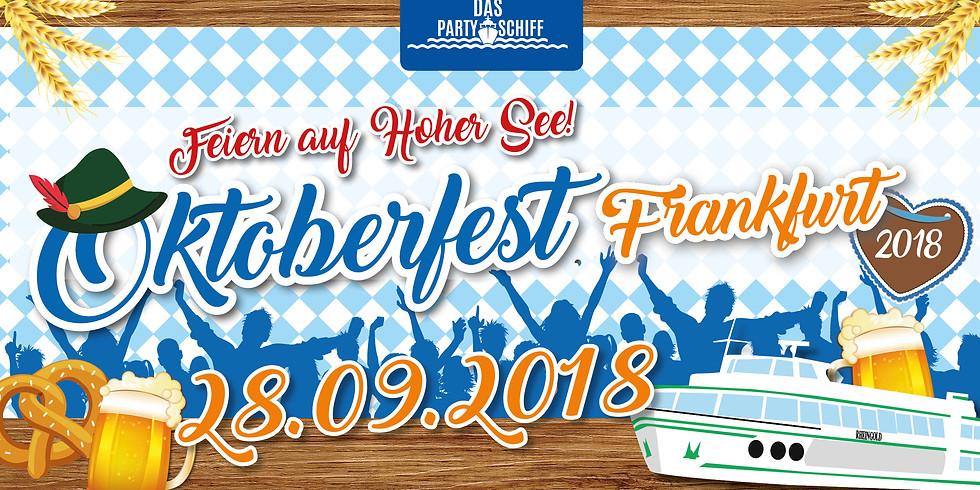 Oktoberfest Partyschiff Frankfurt
