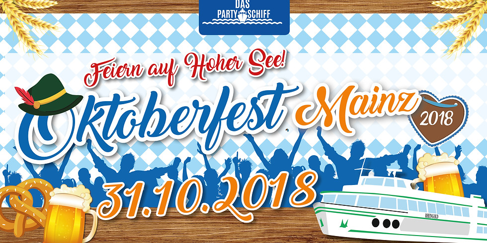 Oktoberfest Partyschiff Mainz - Halloween Edition