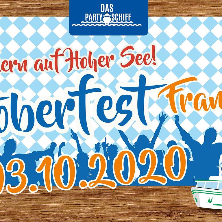 Oktoberfest Partyschiff Frankfurt 01.10.2021 - FLANIER TOUR