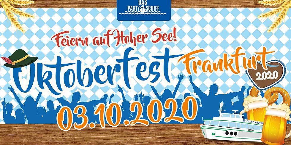 Oktoberfest Partyschiff Frankfurt 03.10.2020 - NACHT DER TRACHT TOUR