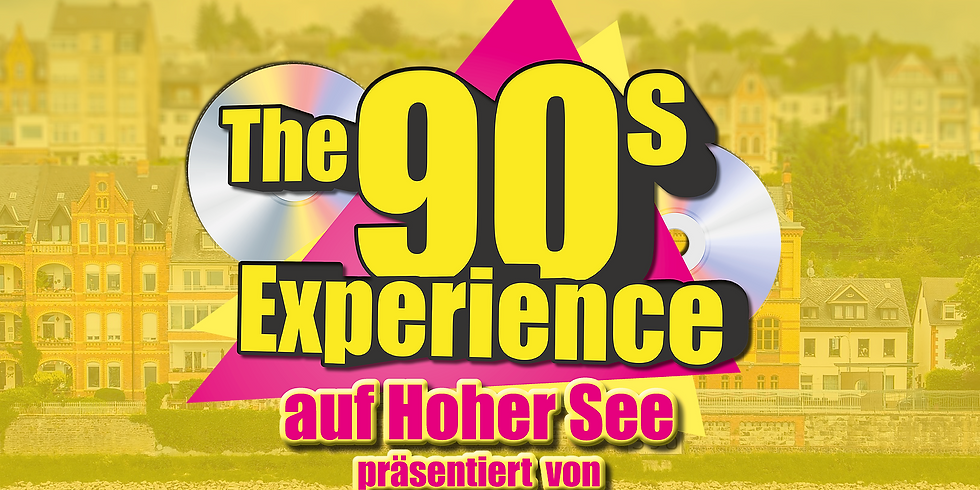 """The 90s Experience - Partyschiff KOBLENZ """"DAY-TOUR"""" 2021 - Halloween Edition"""