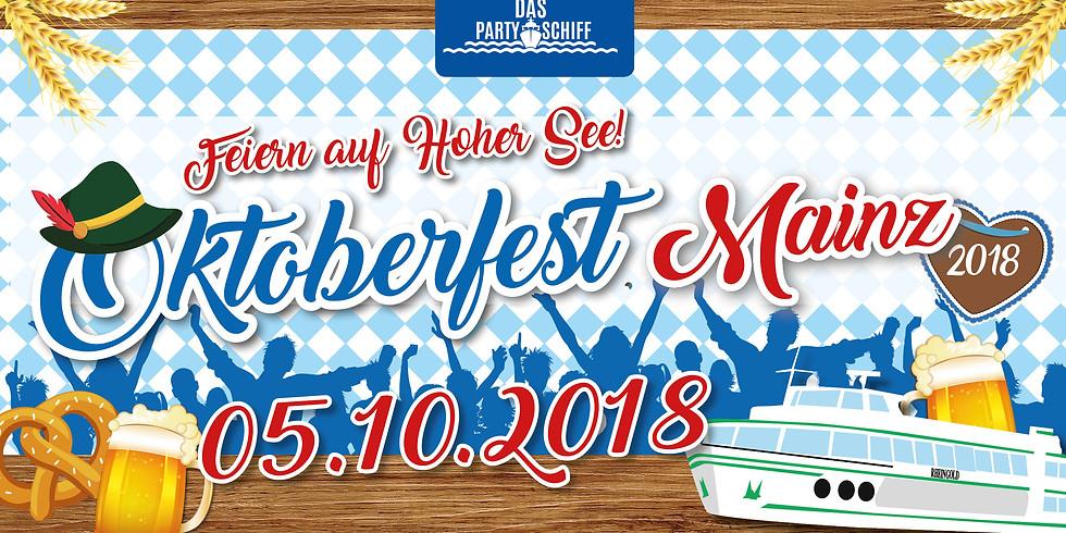 Oktoberfest Partyschiff Mainz