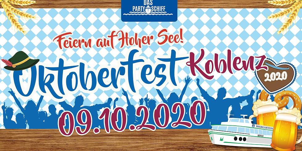 Oktoberfest Partyschiff Koblenz 08.10.2022 - TRACHT TOUR