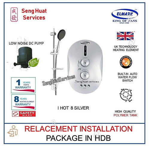 REPLACE INSTALL Elmark i Hot 8 SILVER instant Water Heater COD