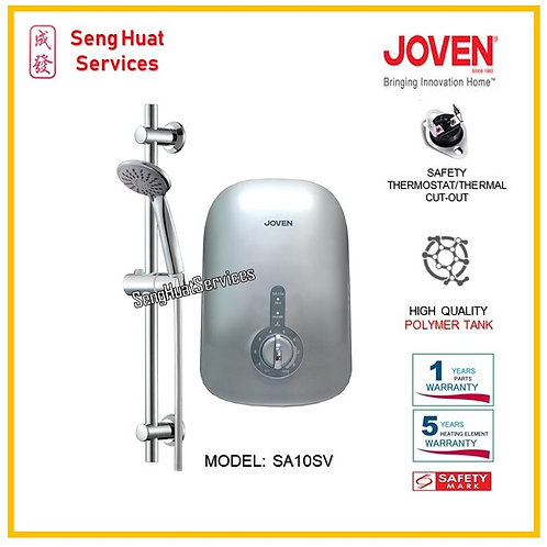 Joven SA10 WHITE Instant Water Heater ( SERVICES OPTION TO SELECT )