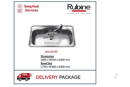 Rubine JAX 610-85 Kitchen Sink DELIVERY