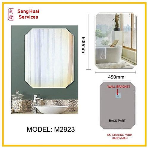 M-2923 Bathroom Rectangular Mirror ( SERVICES OPTION TO SELECT )
