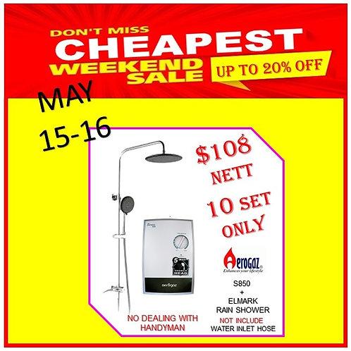 AEROGAZ S850 INSTANT WATER HEATER Weekend Sale