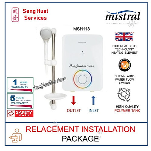 Mistral MSH118 Instant Shower Heater REPLACE