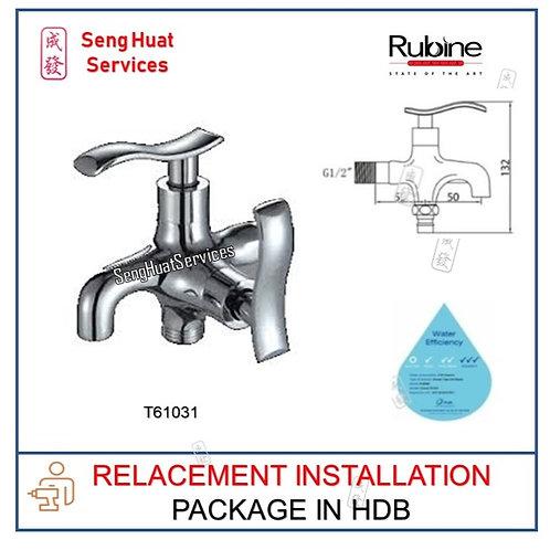 Rubine T60131  Fresco 2 Way Water Tap REPLACE COD