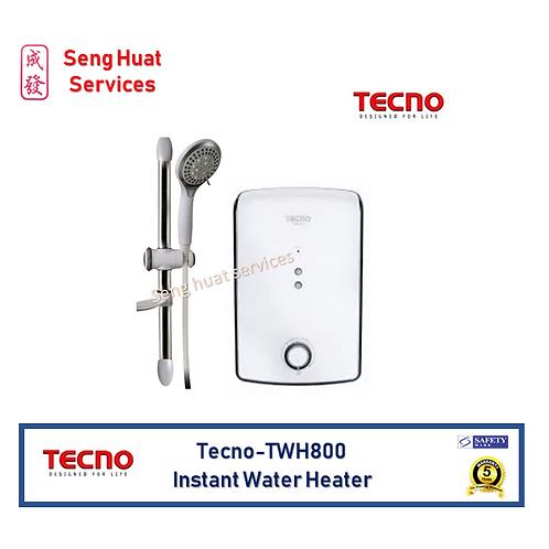 Tecno TWH800 White Instant Water Heater Set