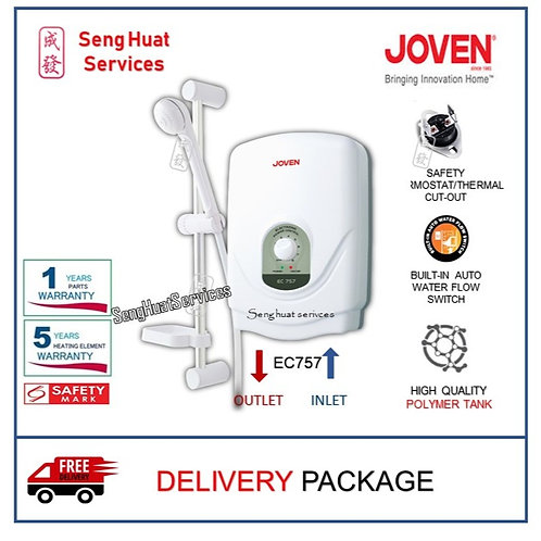 Joven EC757 Instant Water Heater With  Delivery COD