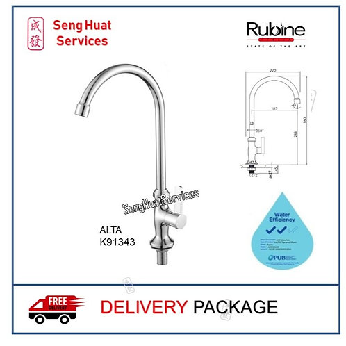 RUBINE  K91343 Kitchen Sink Cold Tap DELIVERY