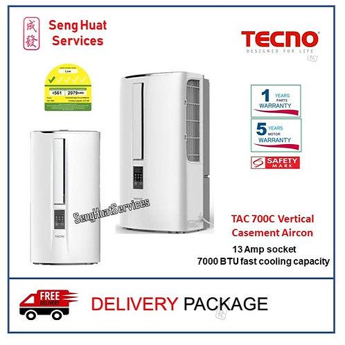 Tecno TAC 700C Vertical Casement Air-con COD