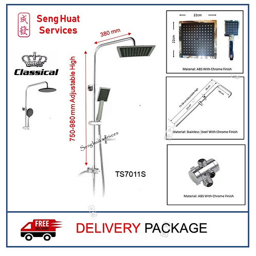 Classical TS7011S Rain Shower Set DELIVERY COD