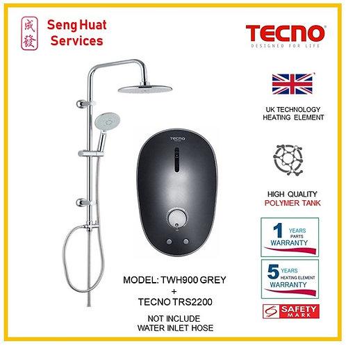 TECNO TWH900 Instant  Heater+TECNO Rain Shower ( SERVICES OPTION SEL