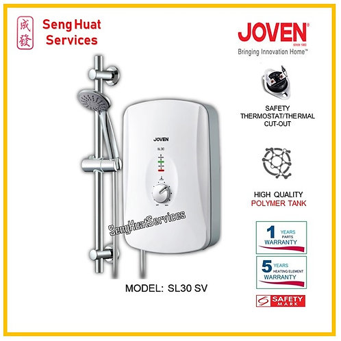 Joven SL30 SV  INSTANT WATER HEATER ( SERVICES OPTION TO SELECT )