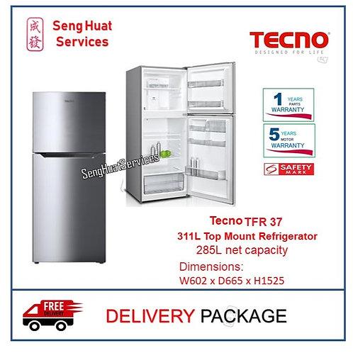 Tecno TFR 37 311L Top Mount Refrigerator