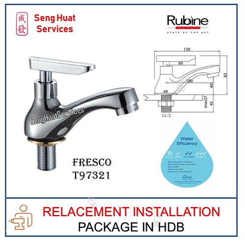 Rubine T97321  Fresco Basin Tap  REPLACE
