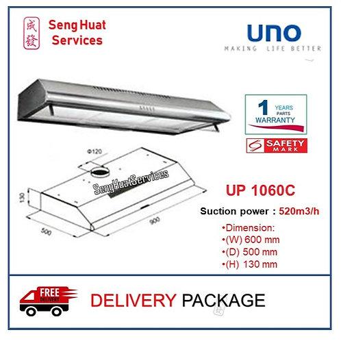 UNO UP 1060C 60cm Slim Line Hood