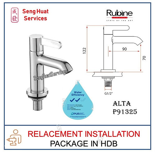 Rubine ALTA P91325 PILLAR TAP  REPLACE