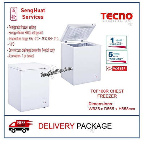 Tecno TCF160R Dual Function 160L Chest Freezer  COD