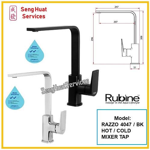 RUBINE RAZZ0 4047 Hot &Cold Mixer Kitchen Sink Tap SERVICES OPTION SELECT