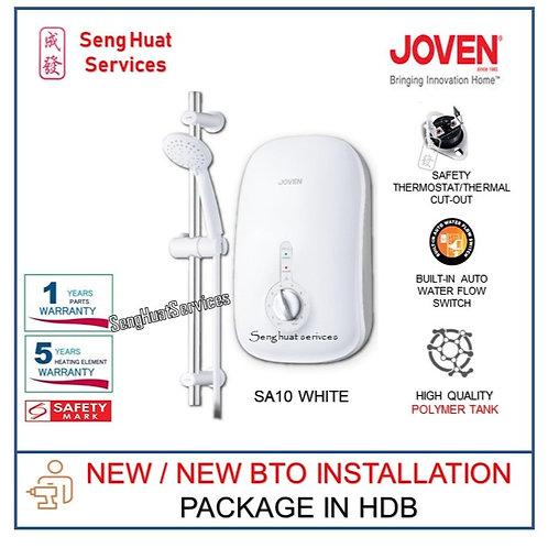 Joven SA10 WHITE instant heater NEW BTO INSTALL