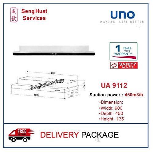 UNO UA 9112 90cm Slim Line Hood