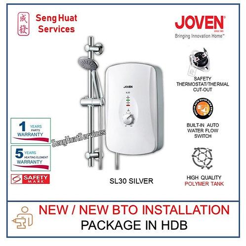 Joven SL30 SILVER Instant Heater NEW BTO INSTALL