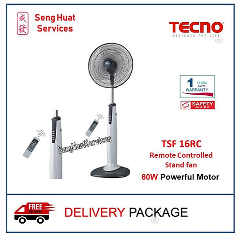 TECNO TSF 16RC 16 Inch Remote Controlled Stand fan