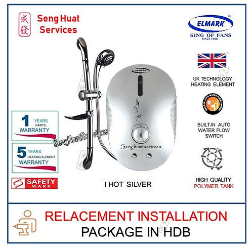 Elmark  i Hot Silver Instant water heater REPLACE INSTALL COD