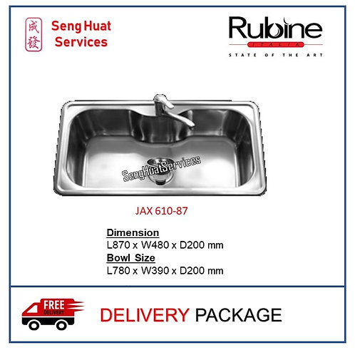 Rubine JAX 610-87 Kitchen Sink DELIVERY