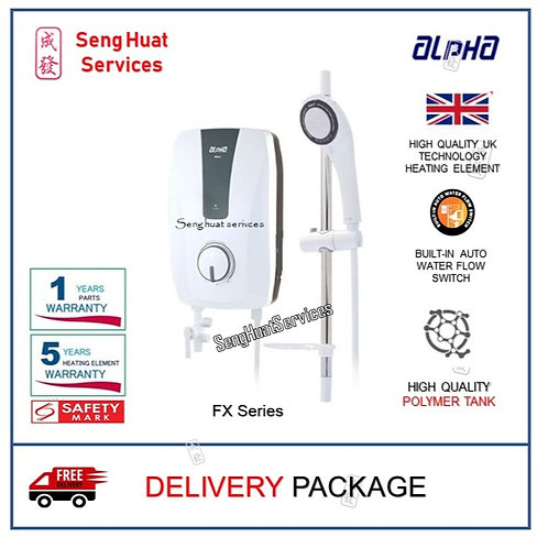 ALPHA FX SERIES Instant Water Heater With  Delivery