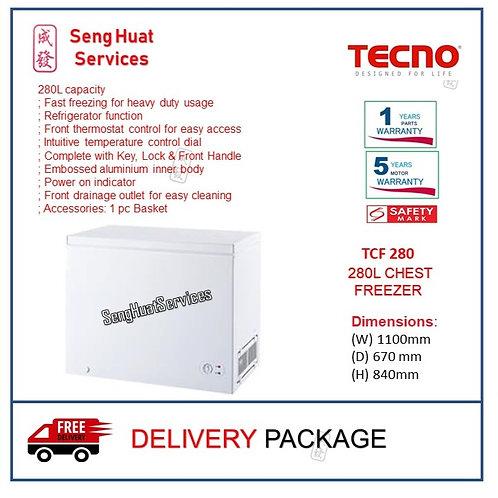 Tecno TCF280 280L Chest Freezer COD