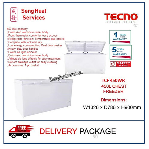 Tecno TCF 450WR Extra Large 450L Chest Freezer
