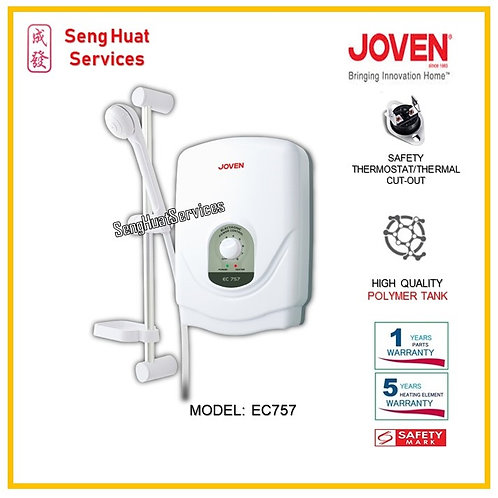 Joven EC757 Instant Water Heater ( SERVICES OPTION TO SELECT )