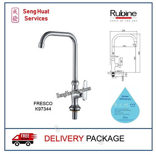 RUBINE  K97344 Kitchen Sink Cold Tap DELIVERY COD