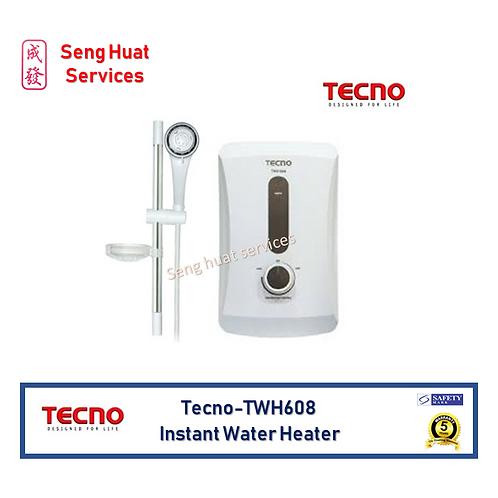 Tecno TWH608 Instant water heater Set
