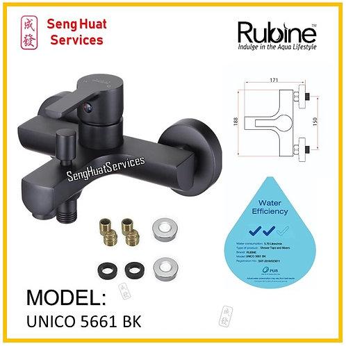 Rubine UNICO 5561 BLACK Mixer Tap SERVICES OPTION SELECT