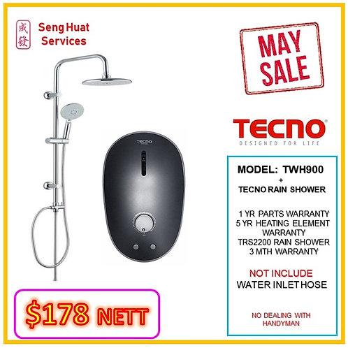 Tecno TWH900 Heater + TECNO Rain Shower MAY SALE