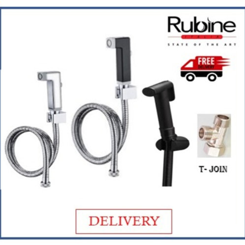 Rubine RSP-18CH BIDET SPRAY SET DELIVERY