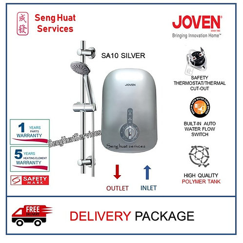 Joven SA10 Silver Instant Water Heater With Delivery COD