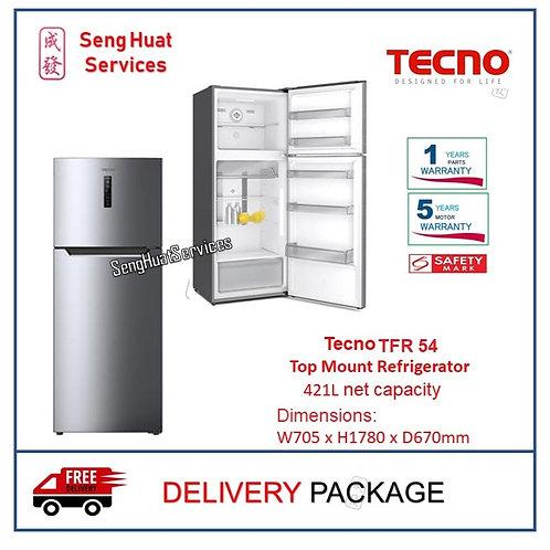 Tecno TFR 54 Top Mount Refrigerator