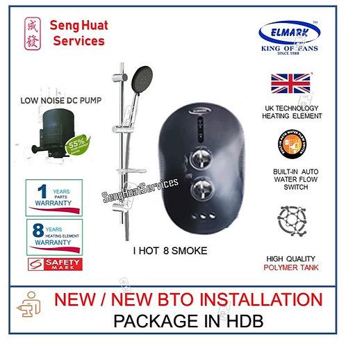 Elmark i Hot 8 SMOKE Instant Heater NEW BTO INSTALL