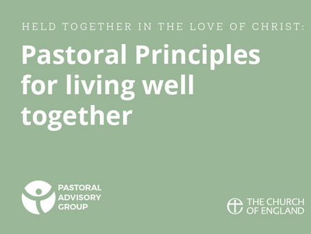 Lent Series 2021 Pastoral Principles by Rosemary Donovan