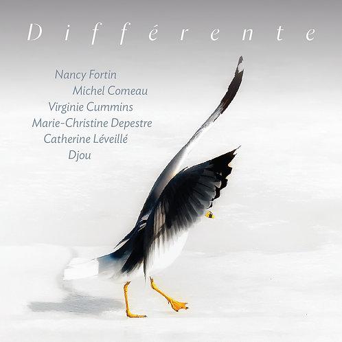 """""""Différente"""" Album CD, livret 20 pages avec paroles"""