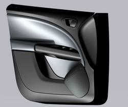 Seat door